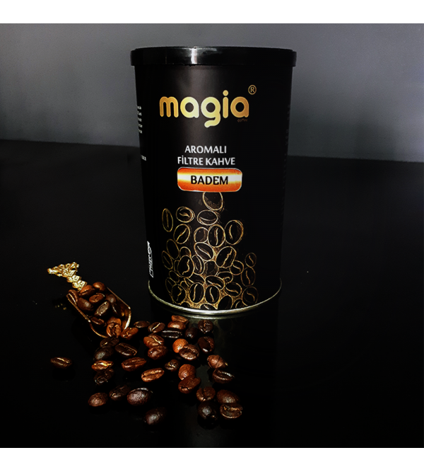 Magia Dünya Kahveleri Badem Aromalı  Filtre Kahv...