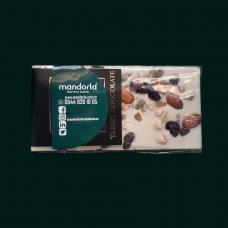 Kuruyemişli Tablet Beyaz Çikolata