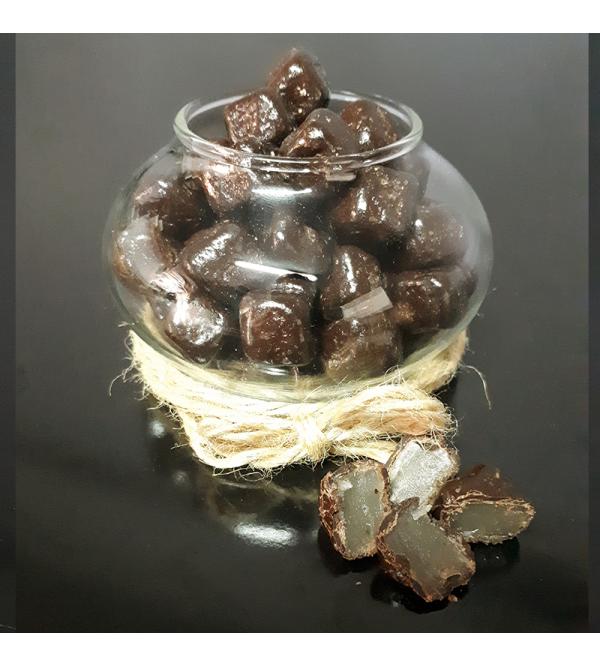 Çikolata Kaplı Damla Sakızlı Lokum